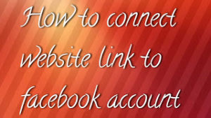 Facebook Account Me Website Link Kaise Add Kare?
