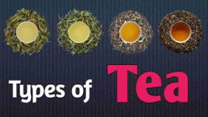 Types of Tea in Hindi | चाय के प्रकार