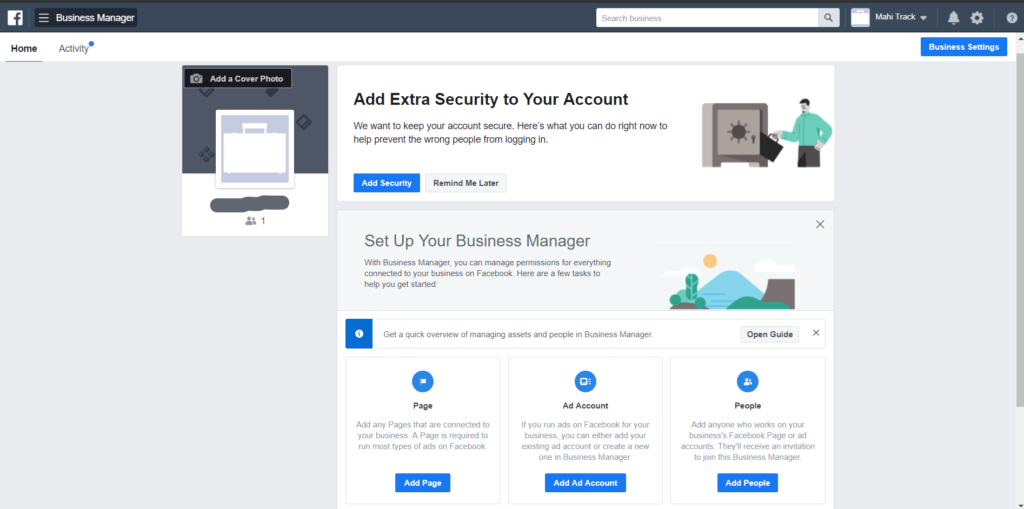 Facebook business manager account tutorial
