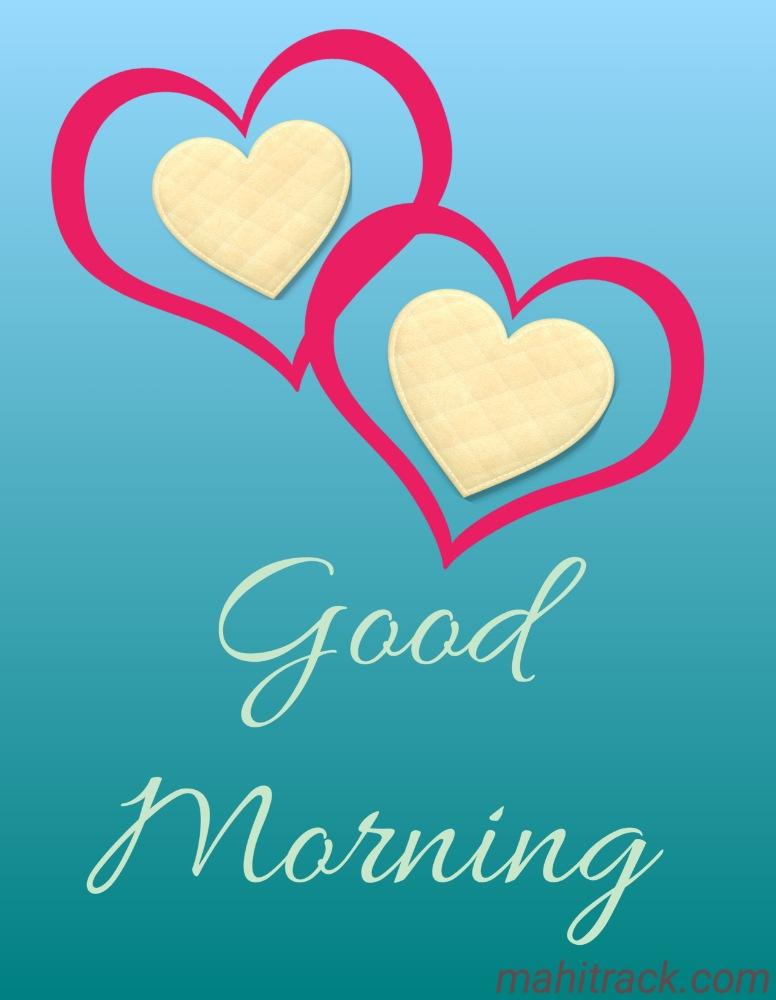 good morning heart wallpaper image