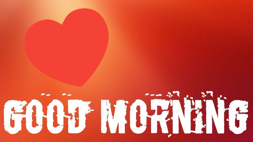good morning heart pics
