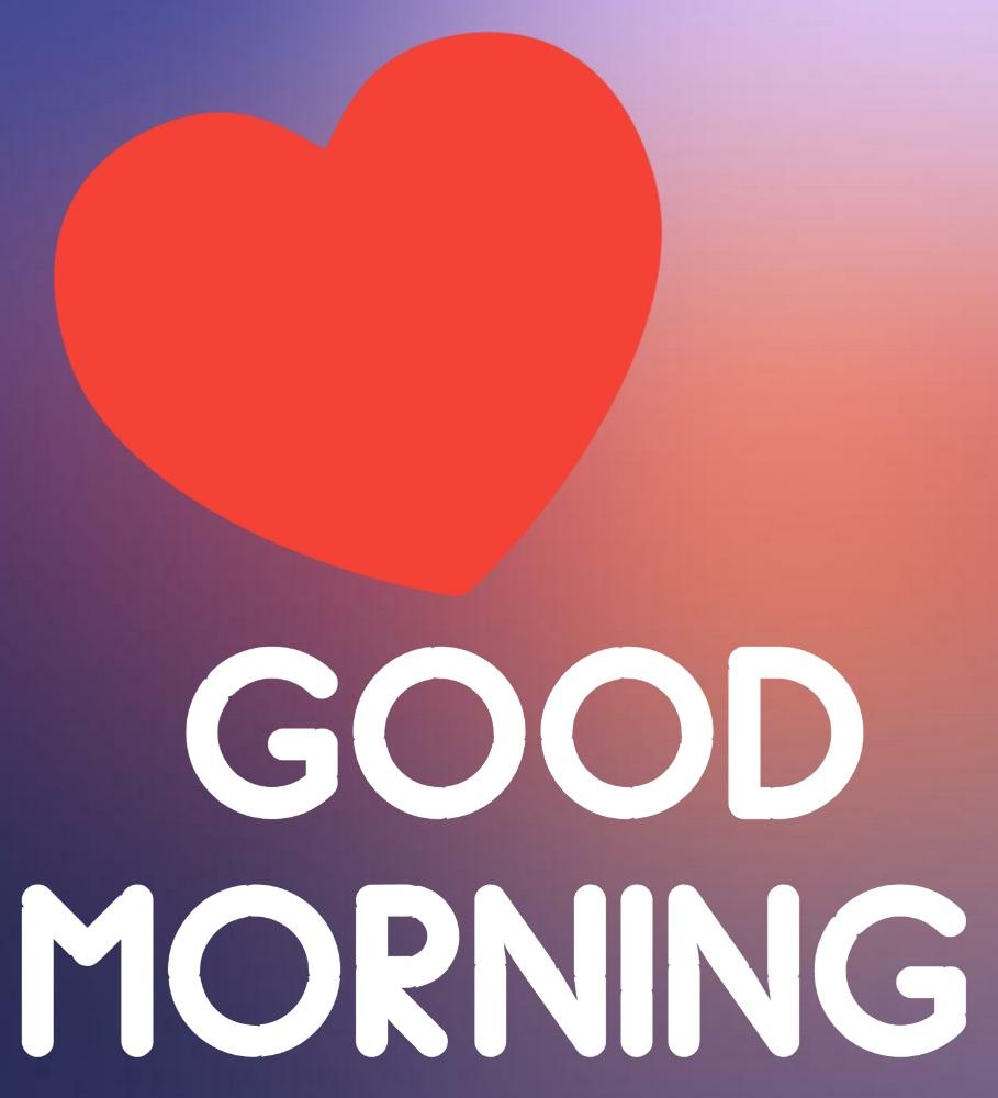 good morning heart photo hd download