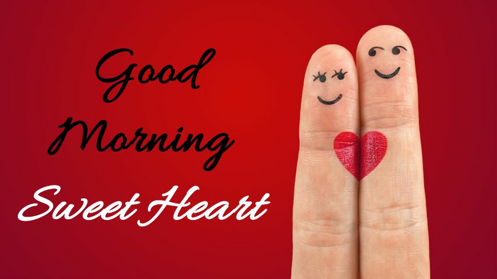 good morning sweet heart image