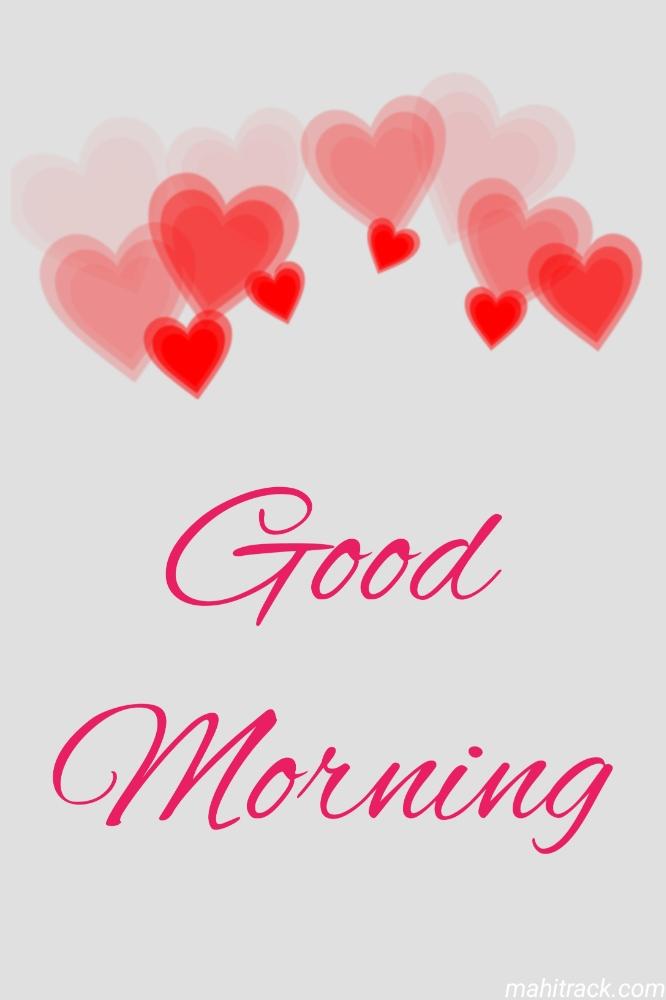 good morning heart pic