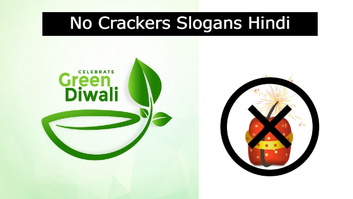 Say No to Crackers Slogans in Hindi, Anti Crackers Slogans in Hindi