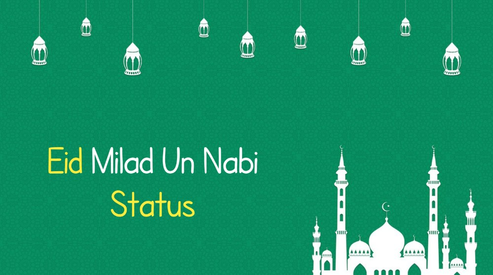 Eid milad un nabi status in hindi, Eid Milad Un Nabi Status for Whatsapp