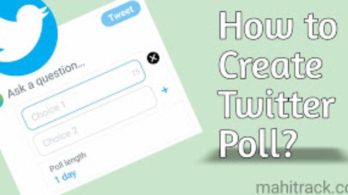 ट्विटर पर पोल कैसे बनायें – Make Poll On Twitter