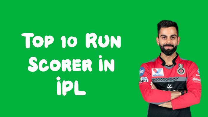 IPL में सबसे ज्यादा रन बनाने वाले बल्लेबाज