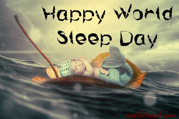 happy world sleep day poster free download