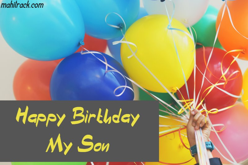 birthday wishes for son from mother in hindi