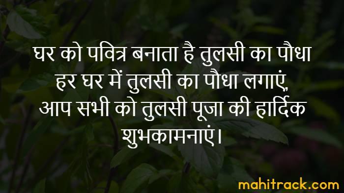तुलसी विवाह की शुभकामनाएं, Tulsi Vivah Wishes in Hindi